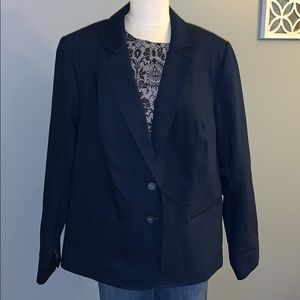 Lane Bryant navy blue blazer size 26
